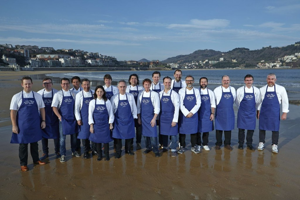 Leading chefs at San Sebastian (photo credit: Oceana)