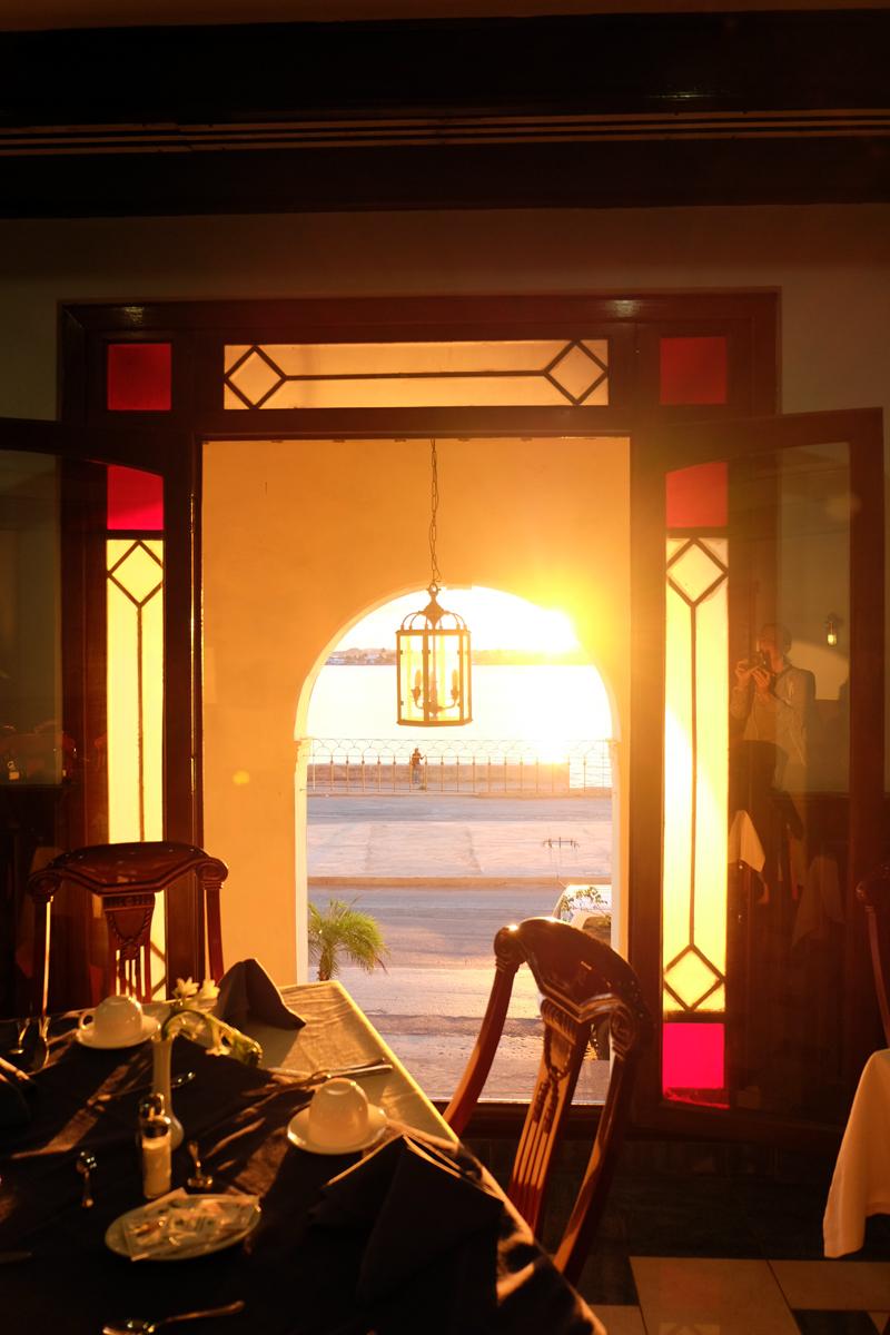 Sunrise and breakfast at Armadores de Santander