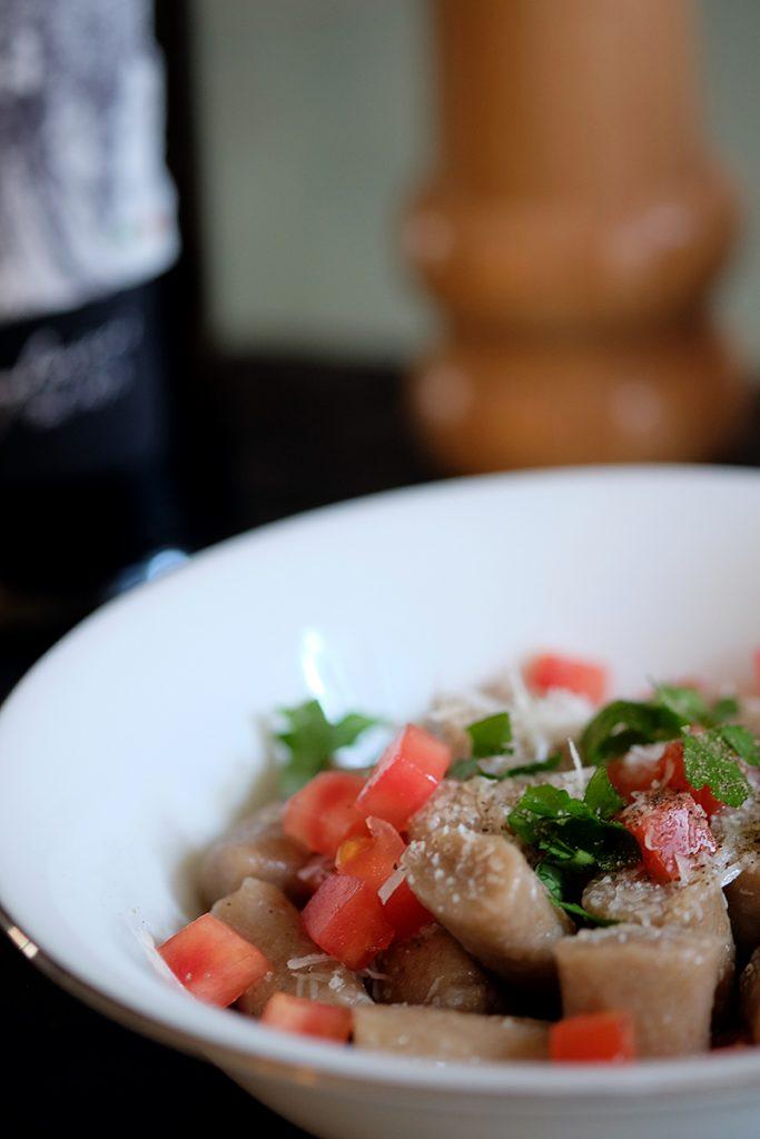 Lentils gnocchi