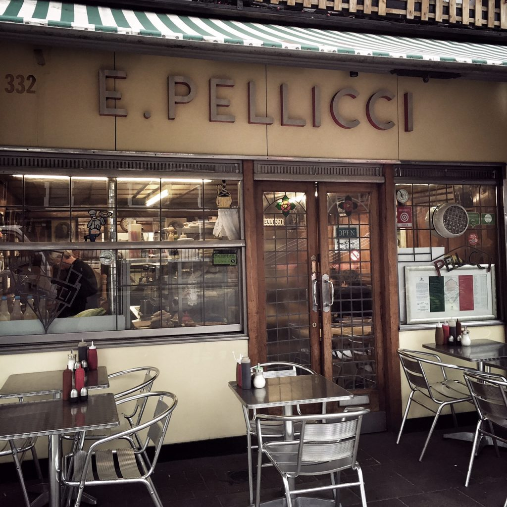 Breakast at Pellicci