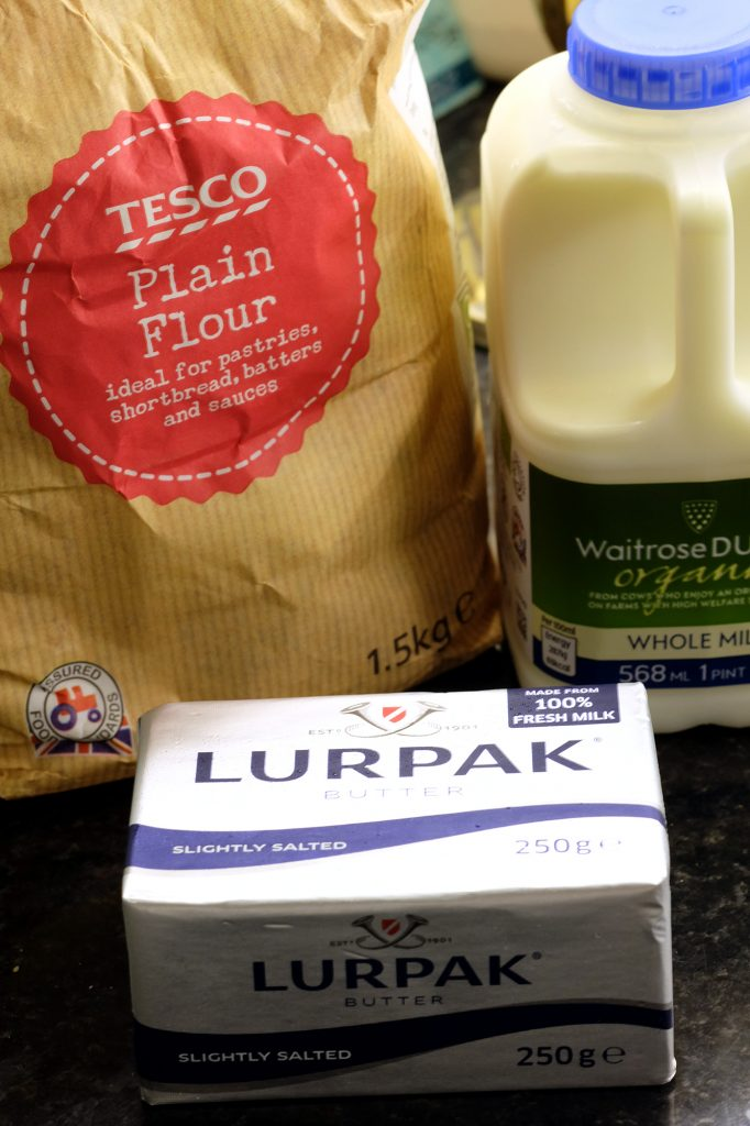 recipe with Lurpak