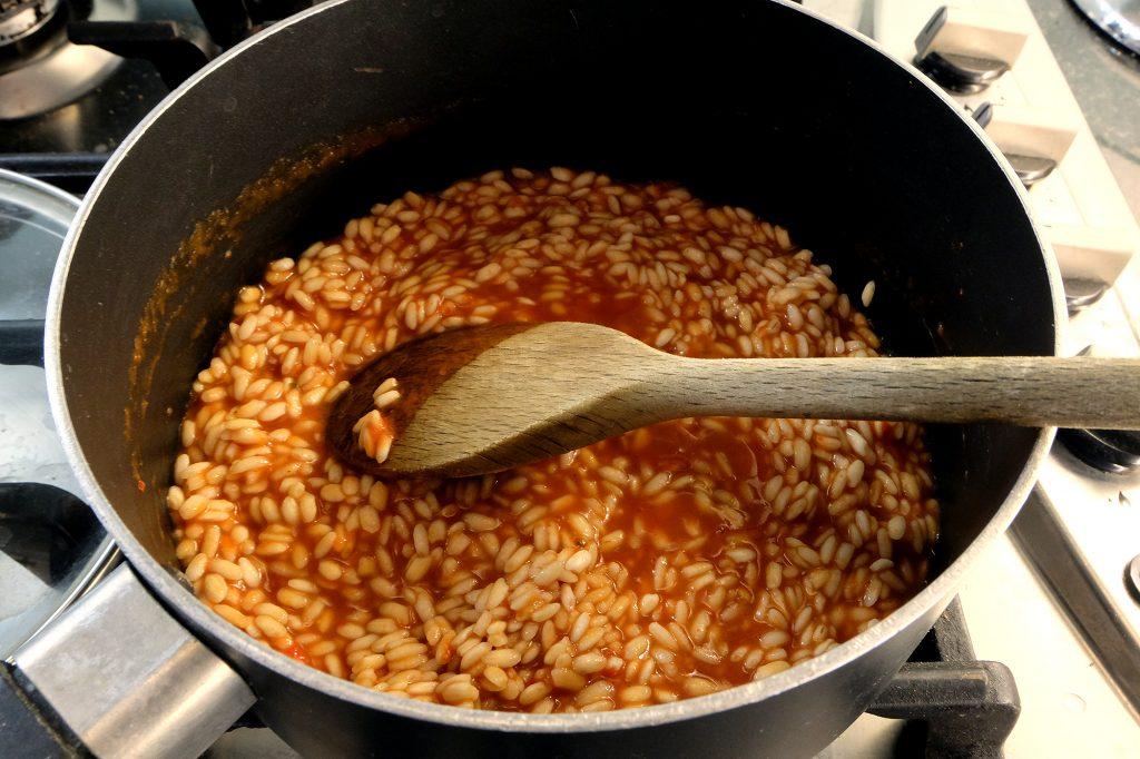 Pastabites - arancini making