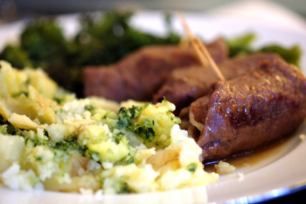 Pastabites cooks - involtini with Grana Padano