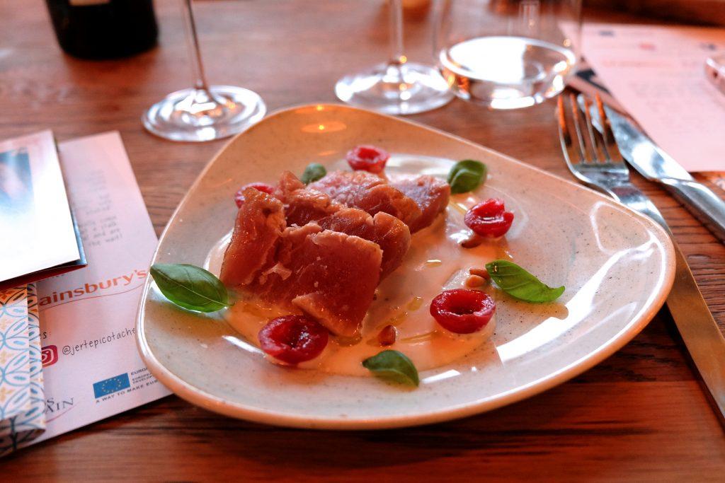 Pastabites tastes Picota Cherries