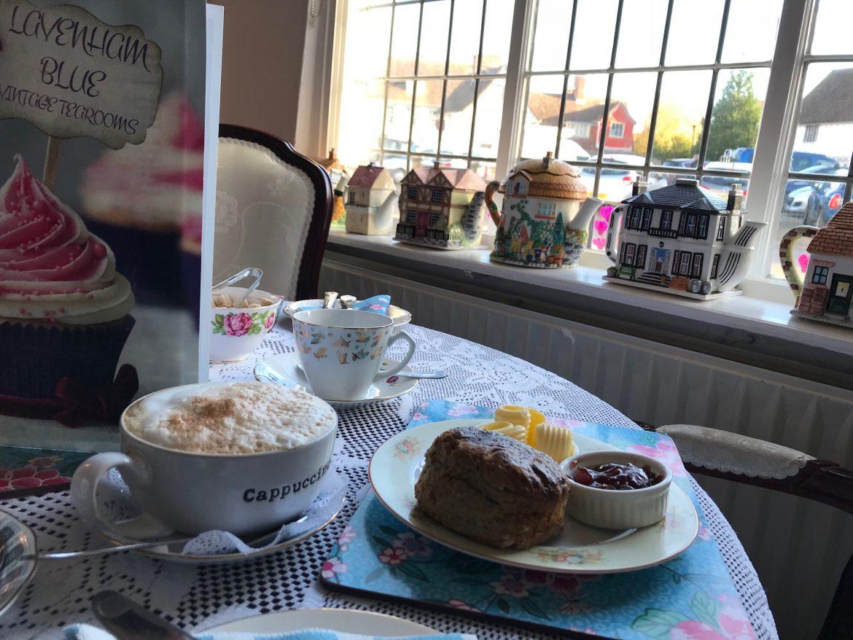 Pastabites in Lavenham - Afternoon tea