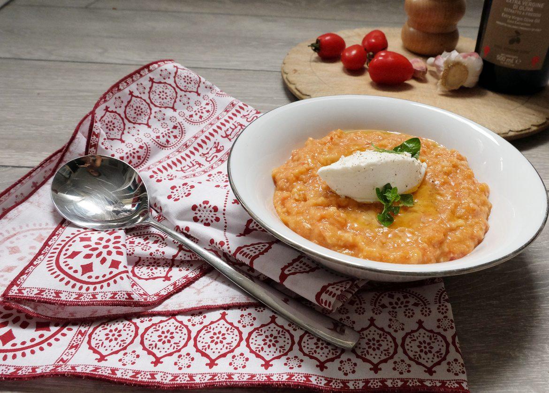 Late summer tomato soup - pappa al pomodoro