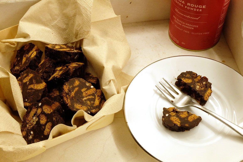 Chocolate salame - Christmas special