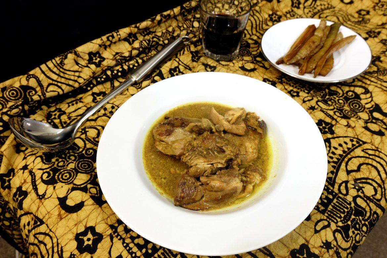 Persian Chicken Stew - CrockPot Challenge