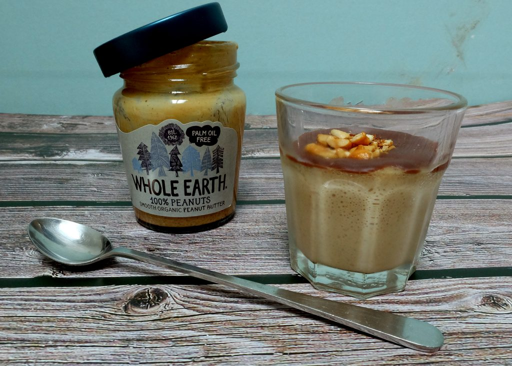Whole Earth Peanut Butter mousse