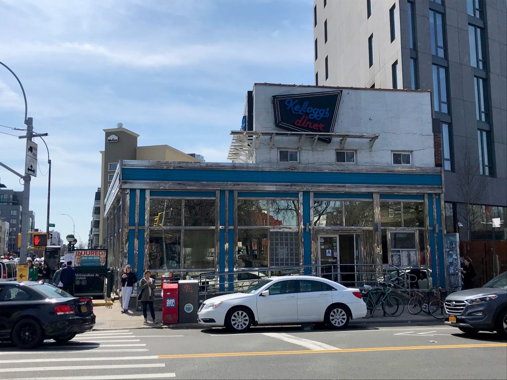 Kellogs Diner in Brooklyn