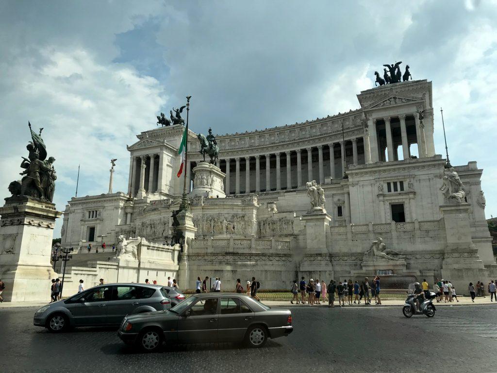 Views of Rome's ALtare della Patria