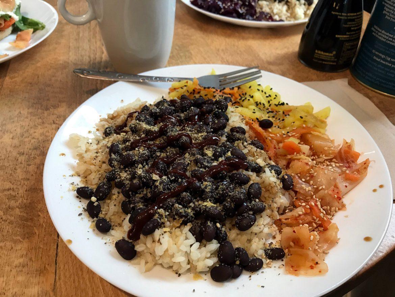 Vegan dishes at Vegan Yes