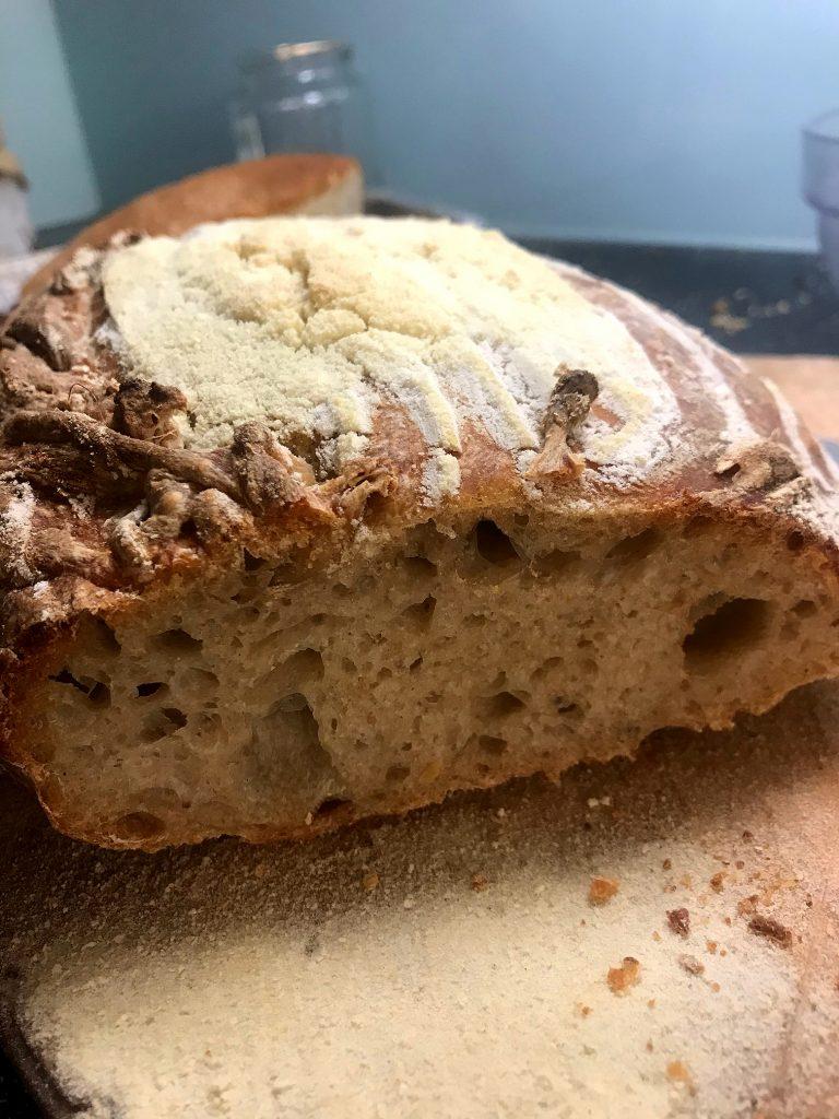 Bread, cut