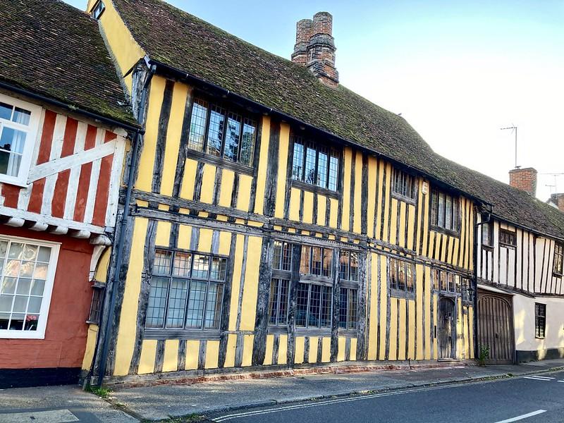 Lavenham medieval houses