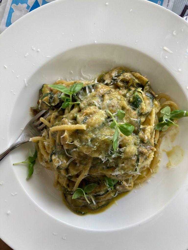 Spaghetti alla Nerano at Fiume