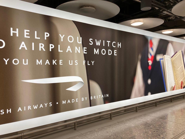 British Airways poster